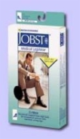 Jobst For Men 8-15  Medium Over-The-Calf Dress Sock Black