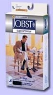 Jobst For Men 20-30 Knee-Hi Black Large (pair)