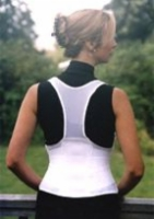 Cincher Female Back Support XXX-Large White