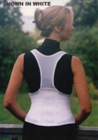 Cincher Female Back Support Large Black