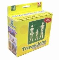 Travel John Disp Urinary Pouch  Bx/3