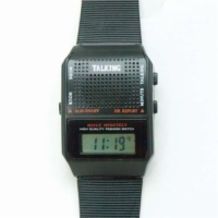 Talking Wrist Watch-English Square Face