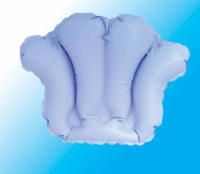 Inflatable Bath Pillow w/ Suction Cups