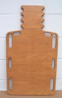 Wood Short Spine Backboard W/ Pinned Hole  32  L  x 16  W