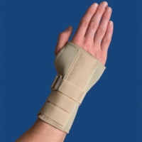 Thermoskin Carpal Tunnel Brace With Dorsal Stay  Large Right