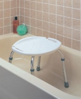 Bath & Shower Seat w/o Back Adjustable  Carex