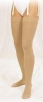 Truform 20-30 Thigh-Hi Large Stay UpTop/Beaded Beige