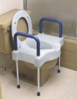 Tall-Ette Elevated  Toilet X-W w/Legs 600 Wt. Cap. Steel