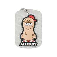 Allermates Dog Tags  P. Nutty Peanut  Allergy