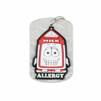 AllerMates Dog Tags Pint Dairy  Allergy