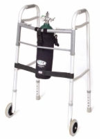 TOTE Oxygen Tank Carrier fits D-Cylinder for Wheeled Walker