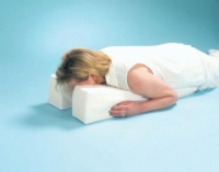 Face Down Pillow 29  x 14  x 6  > 1.5