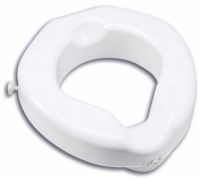 Raised Toilet Seat Deluxe Carex 500 lb. Wt. Cap.