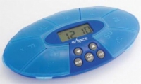 Weekly Pill Timer Turtle XL with Reminder Alarm