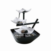 EnviraScape Silver Springs Illuminatd Relaxation Fountain