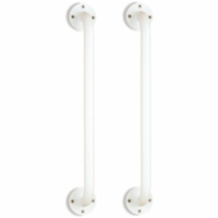 "18"" Wall Grab Bar - White Powder Coating (Pair)"