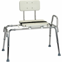 Sliding Transfer Bench with Molded Seat & Back