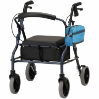 Edgy Aqua On Rollator