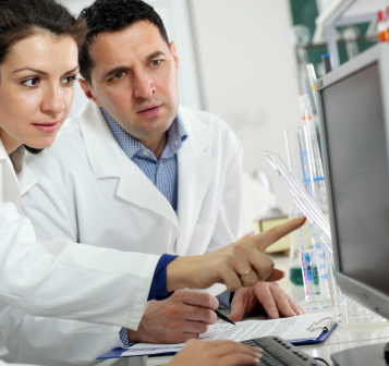 Product testers in an independent laboratory