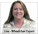 Our Wheelchair Expert Lisa