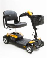 Pride 4 Wheel GoGo LX with CTS Orion Yellow Color Shroud