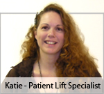 Meet Katie Ryther, our patient lift specialist!