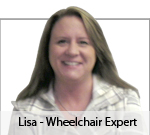 Meet Lisa Ellis, our manual wheelchair expert!