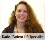 Katie - Patient Lift Expert