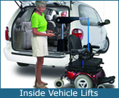 Inside Vehicle Lift