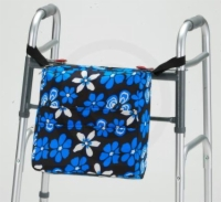 Aloha Blue Floral Walker Bag