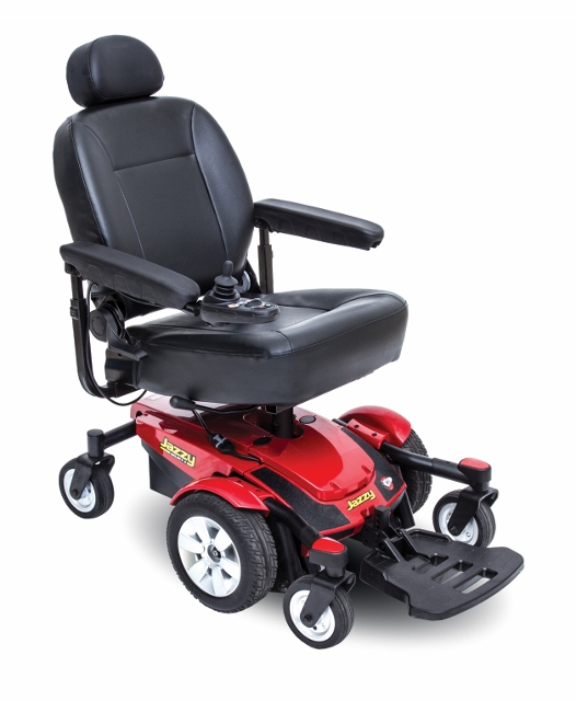 Jazzy select 6 powerchair by pride mobility for How to motorize a wheelchair