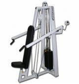 Isolateral Shoulder Press Selectorized Machine