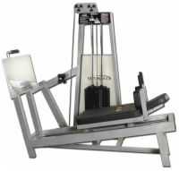 Supine Leg Press Selectorized Machine