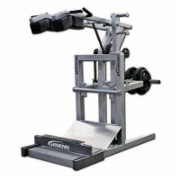 Squat Machine with Calf Blaster