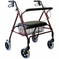Karman Extra Wide Rollator HD - Steel