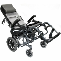 Karman Tilt-In-Space Folding Transport Chair