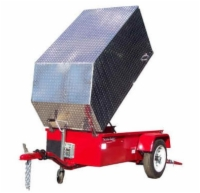 Aluminum Trailer Cover - Large Size