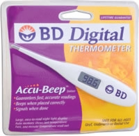 Bd Standard Digital Fever Thermometer