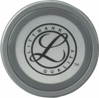 Littmann Tunable Diaphragm & Rim Assembly for Master Cardiology, Gray Rim (Pack of 5)
