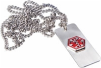 Medical Alert Necklace - Diabetic