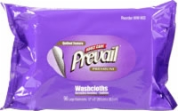 "Prevail Premium Washcloth Refill, 7.9"" x 12.4"" (Pack of 96)"