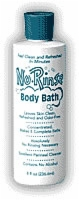 No-Rinse Body Bath, 8 Oz. Bottle