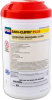 "Sani-Cloth Plus Germicidal Cloth, 8"" x 14"" (Tub of 65)"