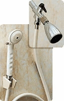 Hand Held Shower Spray And Diverter Valve Combo, 6