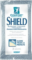 Comfort Shield Perineal Washcloth w/ Dimethicone (Pack of 3)