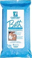 Fragrance-free Comfort Bath Cleansing Washcloth (Case - 44 Packs of 8)