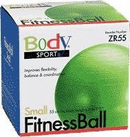 Fitness Ball, 55 Cm, Green