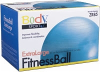 Fitness Ball, 85 Cm, Teal