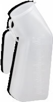 Male Urinal W/cover, Ea