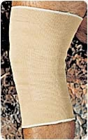 "Beige, Lg (17 1/2""-20"") 11"" Slip-on Knee Compress."